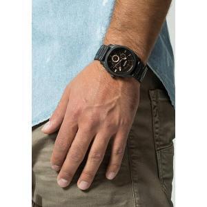 フォッシル 腕時計 メンズ アクセサリー Chronograph watch - black|astyshop