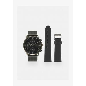 ピアワン 腕時計 メンズ アクセサリー Watch - gunmetal/black|astyshop
