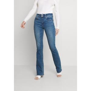 アメリカンイーグル カジュアルパンツ レディース ボトムス HI-RISE ARTIST FLARE JEANS - Flared Jeans - super indigo|astyshop