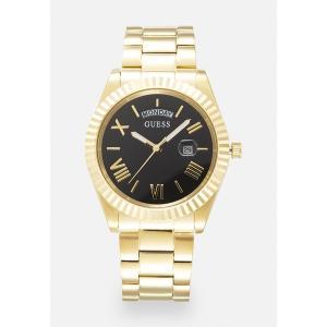 ゲス 腕時計 メンズ アクセサリー UNISEX - Watch - gold-coloured/black|astyshop