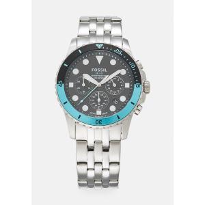 フォッシル 腕時計 メンズ アクセサリー Chronograph watch - silver-coloured|astyshop