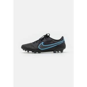 ナイキ ブーツ&レインブーツ メンズ シューズ TIEMPO LEGEND 9 PRO AG-PRO - Moulded stud football boots - black/iron grey|astyshop