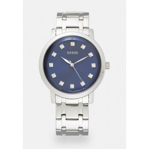 ゲス 腕時計 メンズ アクセサリー UNISEX - Watch - silver-coloured/blue|astyshop