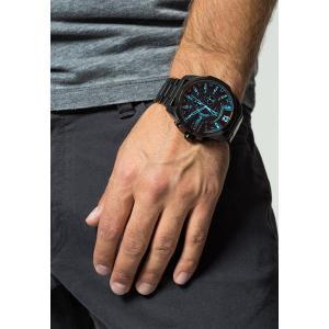 ディーゼル 腕時計 メンズ アクセサリー MEGA CHIEF - Chronograph watch - black|astyshop