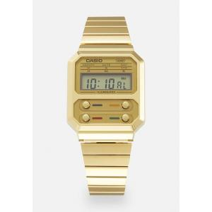カシオ 腕時計 メンズ アクセサリー F100 REVIVAL UNISEX - Digital watch - gold-coloured|astyshop
