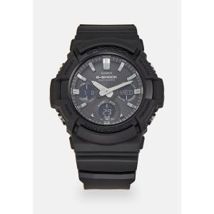 ジーショック 腕時計 メンズ アクセサリー Chronograph watch - black|astyshop
