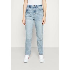 アメリカンイーグル デニムパンツ レディース ボトムス CURVY MOM - Straight leg jeans - light-blue denim|astyshop