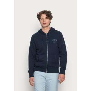 アメリカンイーグル パーカー・スウェットシャツ メンズ アウター HERITAGE GRAPHIC - Zip-up sweatshirt - tidal blue|astyshop