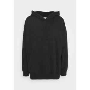 アメリカンイーグル パーカー・スウェットシャツ レディース アウター SOLID HOODIE - Sweatshirt - true black|astyshop