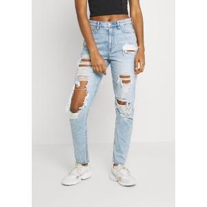 アメリカンイーグル カジュアルパンツ レディース ボトムス MOM JEANS - Straight leg jeans - high tide|astyshop