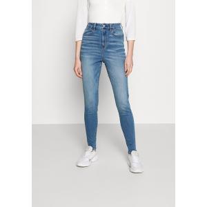 アメリカンイーグル デニムパンツ レディース ボトムス CURVY HIGHEST RISE - Slim fit jeans - starburst blue|astyshop