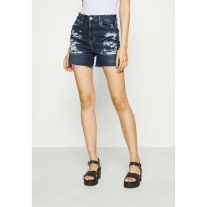 アメリカンイーグル デニムパンツ レディース ボトムス CURVY  SHORTIE - Denim shorts - dark indigo|astyshop