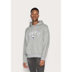 カーハート パーカー・スウェットシャツ メンズ アウター HOODED BERKELEY - Sweatshirt - grey heather astyshop