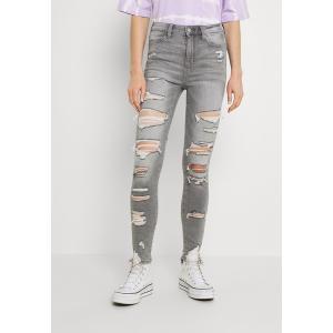 アメリカンイーグル カジュアルパンツ レディース ボトムス SUPER HI RISE - Jeans Skinny Fit - storm heather|astyshop