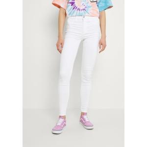 アメリカンイーグル カジュアルパンツ レディース ボトムス HI-RISE - Jeans Skinny Fit - bright white|astyshop