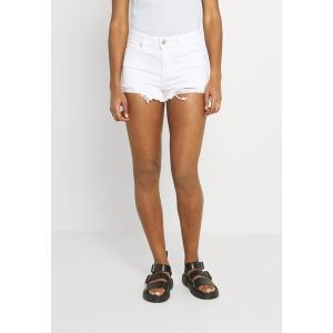 アメリカンイーグル カジュアルパンツ レディース ボトムス Denim shorts - white out destroy|astyshop