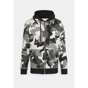 ディーゼル パーカー・スウェットシャツ メンズ アウター UMLT-BRANDON-Z FELPA - Zip-up sweatshirt - grey astyshop