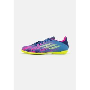アディダス ブーツ&レインブーツ メンズ シューズ X SPEEDFLOW MESSI.4 IN - Indoor football boots - victory blue/shock pink/solar yellow|astyshop