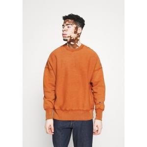 チャンピオン リバース ウィーブ パーカー・スウェットシャツ メンズ アウター CREWNECK - Sweatshirt - orange astyshop