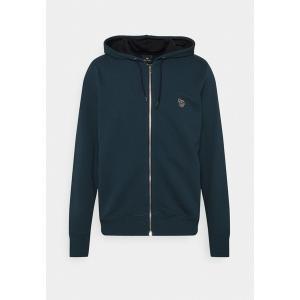 ポールスミス パーカー・スウェットシャツ メンズ アウター REG FIT ZIP HOODY UNISEX - Zip-up sweatshirt - dark blue astyshop