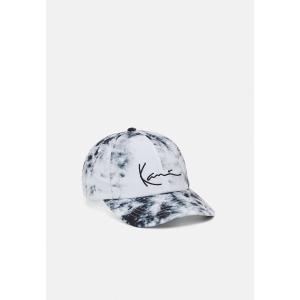カール カナイ 帽子 メンズ アクセサリー SIGNATURE TIEDYE UNISEX - Cap - white astyshop