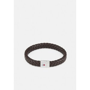 トミー ヒルフィガー ブレスレット・バングル・アンクレット メンズ アクセサリー ROUND BRAIDED BRACELET - Bracelet - braun|astyshop