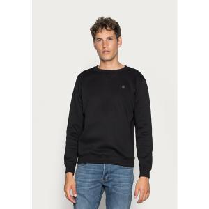 ジースター パーカー・スウェットシャツ メンズ アウター PREMIUM CORE - Sweatshirt - black astyshop