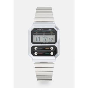 カシオ 腕時計 メンズ アクセサリー F100 REVIVAL UNISEX - Digital watch - silver-coloured|astyshop
