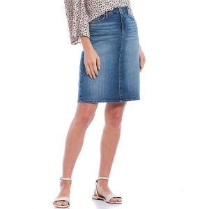 エヌワイディージェイ レディース スカート ボトムス 5-Pocket Stretch Denim Pencil Skirt Alton|astyshop