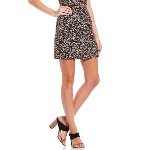 フレンチコネクション レディース スカート ボトムス Cheetah Print Whisper Skirt Multi|astyshop