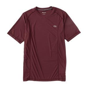 アウトドアリサーチ メンズ Tシャツ トップス Echo Performance Short-Sleeve Tee Burgundy astyshop
