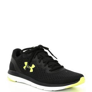 アンダーアーマー メンズ スニーカー シューズ Men's Charged Impulse Running Shoes Black/Black/X-Ray astyshop