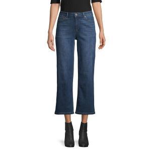 ジョーンズニューヨーク レディース デニム ボトムス Montauk Wide-Leg Jeans Montauk Wash|astyshop
