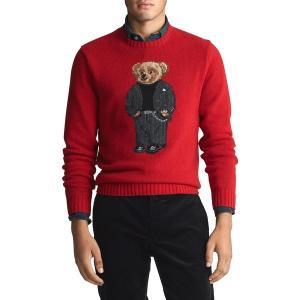 ラルフローレン メンズ ニット、セーター アウター Suit Bear Wool-Blend Swe...