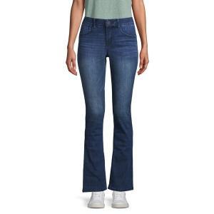 デモクラシー レディース デニム ボトムス Bootcut Jeans Blue|astyshop