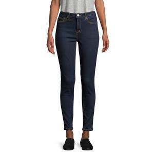 マイケルコース レディース デニム ボトムス Cons-Stretch High-Rise Jeans Dark Rinse|astyshop