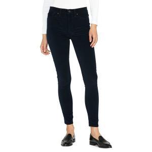 ハドソンジーンズ レディース デニム ボトムス Barbara High Rise Skinny Jeans Midnight|astyshop
