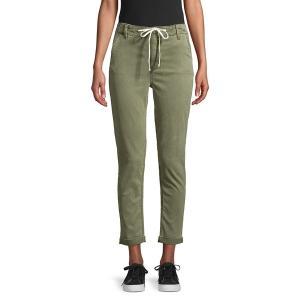 ペイジジーンズ レディース デニム ボトムス Drawstring Denim Jeans Green|astyshop