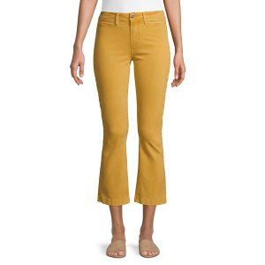 ペイジジーンズ レディース デニム ボトムス Colete Cropped Flared Jeans Vintage Dandelion|astyshop
