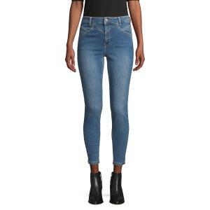 フリーピープル レディース デニム ボトムス Stretch Skinny Jeans Blue|astyshop