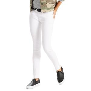 リーバイス レディース デニム ボトムス Slim-Fit Skinny Jeans Soft Clean White|astyshop