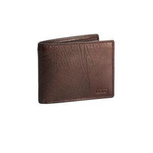 ラルフローレン メンズ 財布 アクセサリー Leather Passcase Wallet Brown astyshop