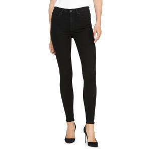 ハドソンジーンズ レディース デニム ボトムス Barbara High-Rise Super Skinny Jeans Black|astyshop