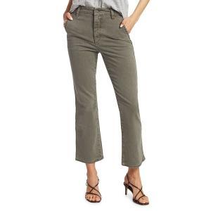 ジョーズジーンズ レディース デニム ボトムス Mid-Rise Slim Kick Cropped Jeans Deep Celad|astyshop