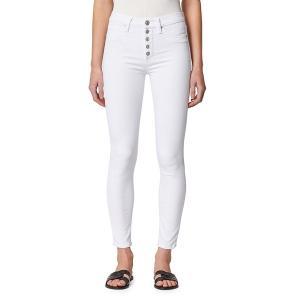 ハドソンジーンズ レディース デニム ボトムス Barbara High-Rise Skinny Jeans White|astyshop
