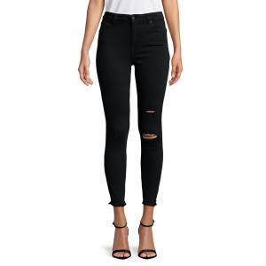ラッキーブランド レディース デニム ボトムス Bridgette Distressed Skinny Jeans Xenia|astyshop