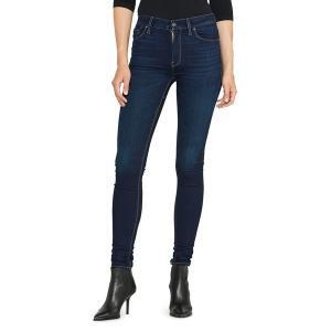 ハドソンジーンズ レディース デニム ボトムス Barbara High Rise Skinny Jeans Requiem|astyshop