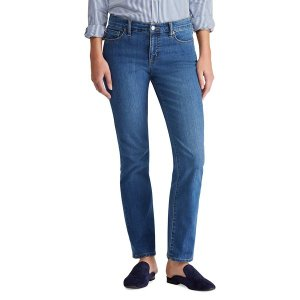 ラルフローレン レディース デニム ボトムス Modern Straight Curvy Jeans Ocean Blue|astyshop