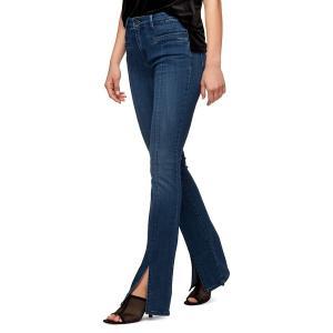 サンクチュアリー レディース デニム ボトムス Front Split Demi Bootcut Jeans Tanager|astyshop