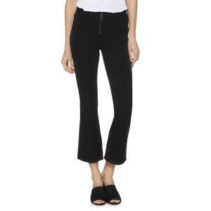 ペイジジーンズ レディース デニム ボトムス Colette High-Rise Crop Flare Jeans Black|astyshop